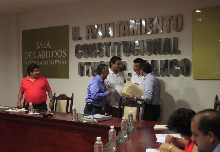 El Cabildo reprocha que al menos el 30 por ciento del empréstito se encuentra comprometido por deuda histórica. (Enrique Mena/SIPSE)