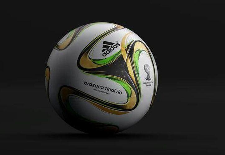 El balón estará presente en el juego por el tercer lugar entre Brasil y Holanda. (FIFA)