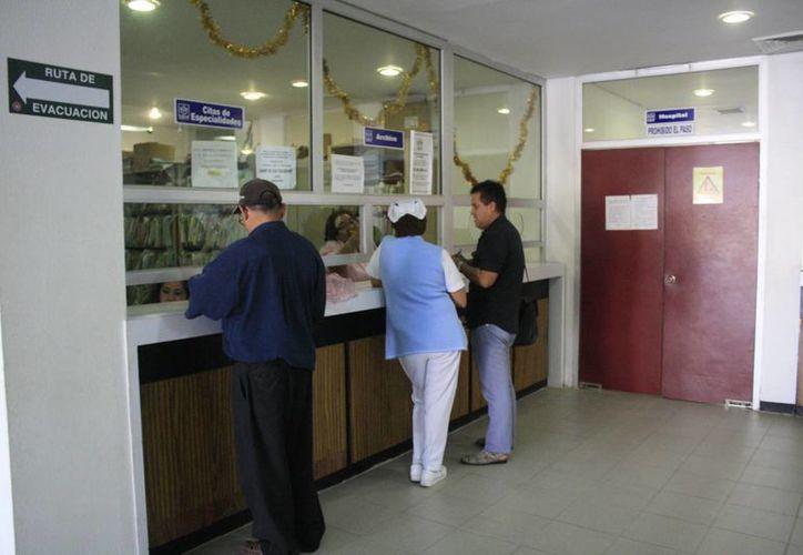 Los servicios médicos no se saturarán aunque aumente el número de afiliados. (Paloma Wong/SIPSE)