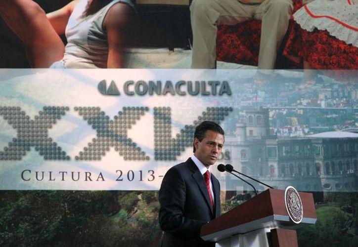 En el 25 aniversario del Conaculta anunció nuevas inversiones para modernizar museos, en Baja California, Coahuila y Yucatán. (presidencia.gob.mx)