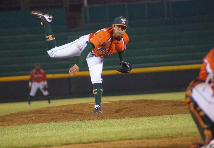 Carlos Mendívil, Manuel Rodríguez y Leonel Rivera son peloteros de Ligas Menores que podrían dar el gran salto de Yucatán al mejor beisbol del mundo. (Milenio Novedades)