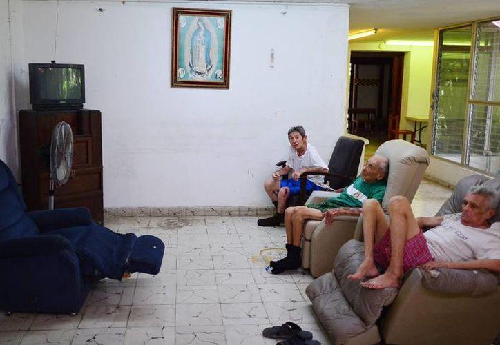 Muchos de los albergues en Mérida operan en condiciones deficientes. (Milenio Novedades)