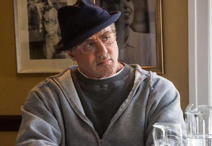 Sylvester Stallone en su papel de Rocky Balboa durante la reciente entrega de la saga. 'Creed' ha tenido resultados muy positivos en Estados Unidos y la prensa especializada destacó en particular la actuación de Stallone. (Imágenes de AP)