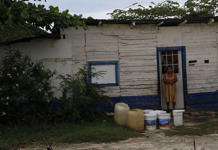 En Benito Juárez, el 26%  de su población es considerada con carencia y en pobreza extrema, según estadísticas de la Secretaría  de Desarrollo Social.  (Tomás Álvarez/SIPSE)