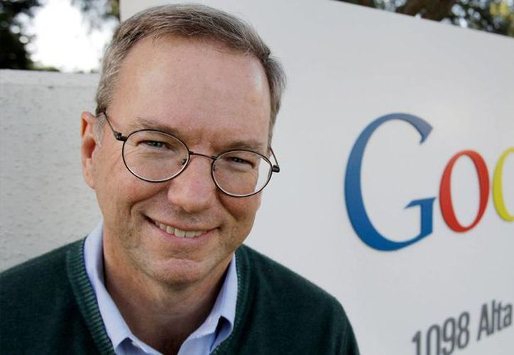 A sus 59 años de edad, Erick Schmidt, presidente ejecutivo de Google, está ubicado en la posición 139 de las personas más ricas del planeta, de acuerdo con la revista Forbes. (Agencias)