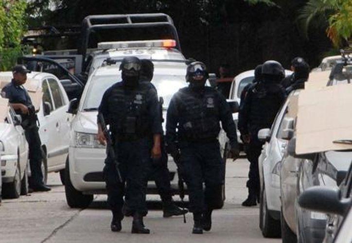 Hay 36 mil elementos de la Policía Federal implicados en la lucha contra el Crimen Organizado. (Notimex)