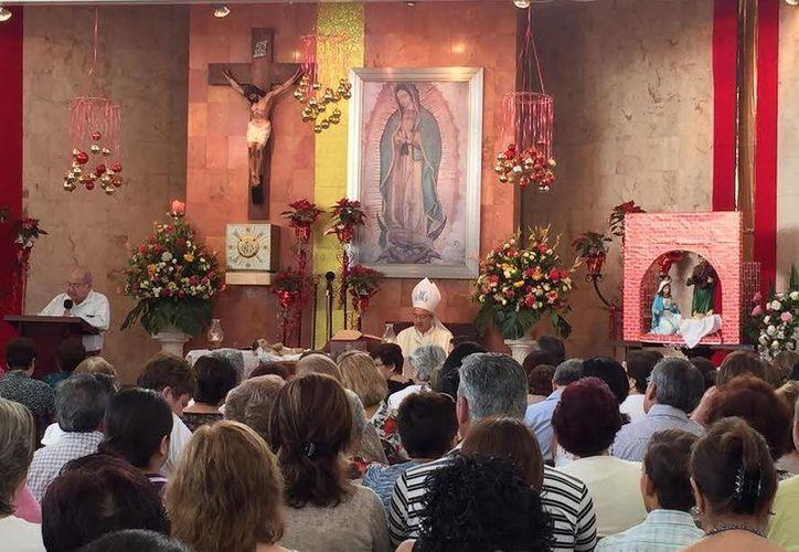En visita a su tierra natal, Mérida, el arzobispo Jorge Patrón Wong presidirá diversas ceremonias eucarísticas. Consideró que el año 2016 será 'de bendiciones' para los mexicanos por la llegada del Papa. (SIPSE)