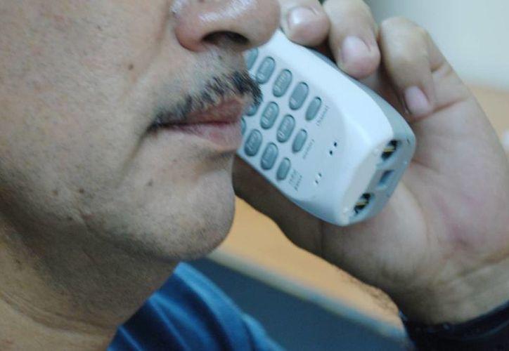 """""""Todas llamadas de extorsión o engaño telefónico provienen de otras partes del país"""", afirmó el titular de la SSP, Luis Felipe Saidén Ojeda. (Archivo/SIPSE)"""