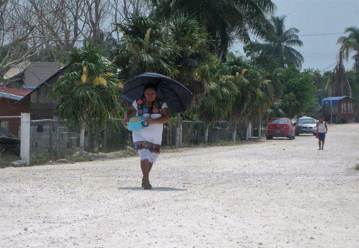 Las afectadas iniciaron un llamado al gobernador para que la situación no derive en un enfrentamiento. (Javier Ortiz/SIPSE)