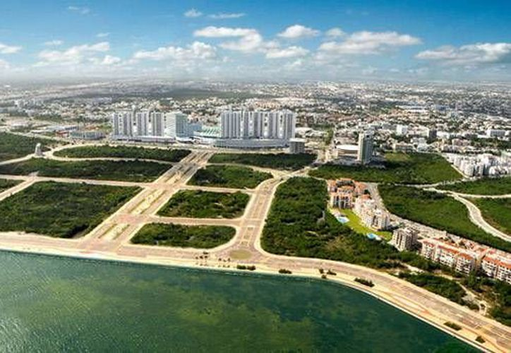 La Manifestación de Impacto Ambiental del Malecón Tajamar está vigente y permite realizar trabajos en dicha área. (Contexto/Internet)