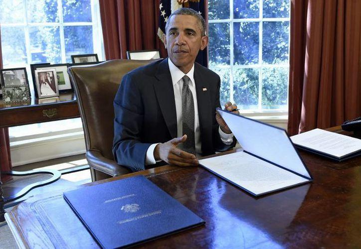 La orden ejecutiva es la medida más reciente del gobierno de Obama para responder a las amenazas crecientes de naciones y de grupos delictivos. (Agencias)