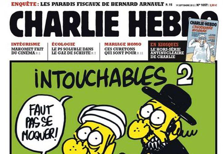 Portada de la polémica revista que levantó la furia del mundo árabe. (Internet)