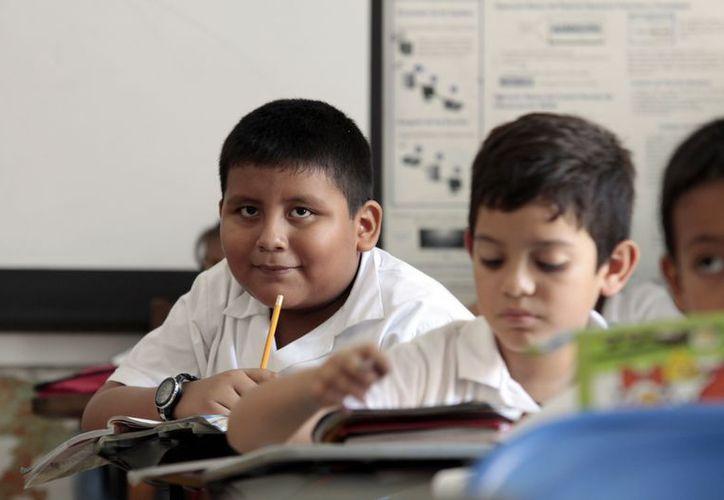El Índice de Progreso Educativo (IPE) en México para primaria fue de 7.5; para secundaria de 6.7 y para la educación media superior, de 6.3. (Archivo/Milenio Novedades)