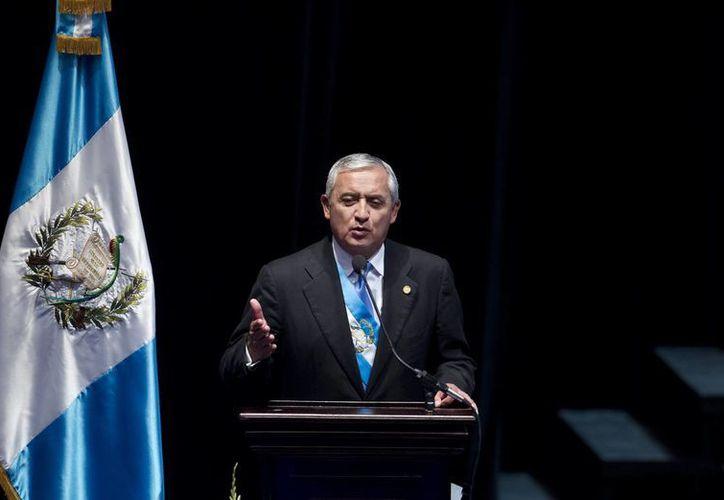 El presidente de Guatemala, Otto Pérez Molina, es señalado por el desfalco a la Seguridad Social guatemalteca y al fisco. (EFE/Archivo)