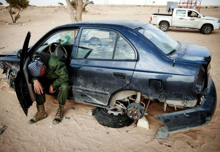 Libia vive una ola de violencia en los últimos días. (EFE)