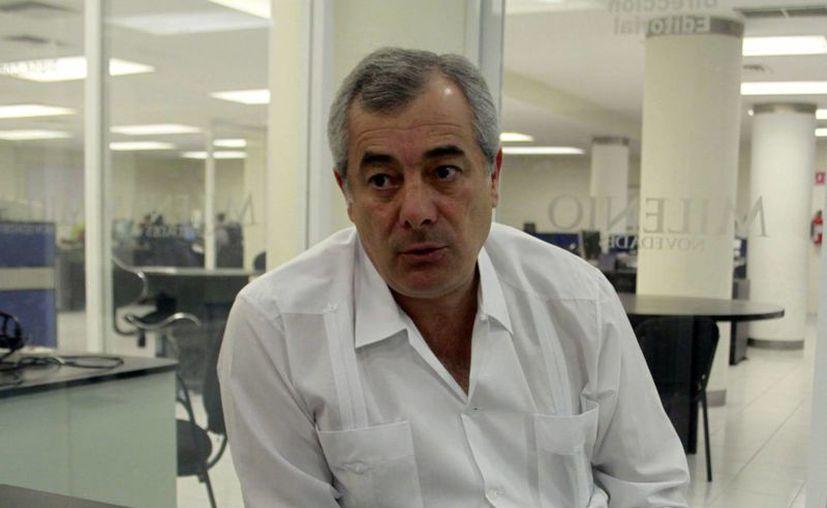 Francisco Moya Gómez, vocero y secretario de la empresa AB&C. (Milenio Novedades)