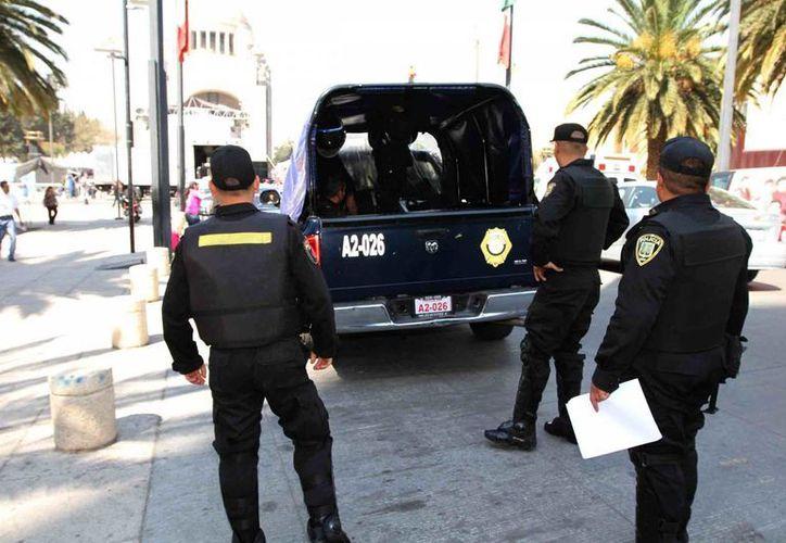 Policías municipales fueron acusados de colaborar con cárteles del narcotráfico. (Notimex)