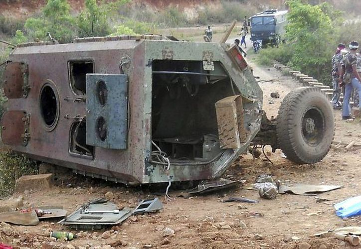 El ataque contra la camioneta militar dejó dos muertos. (Archivo/EFE)