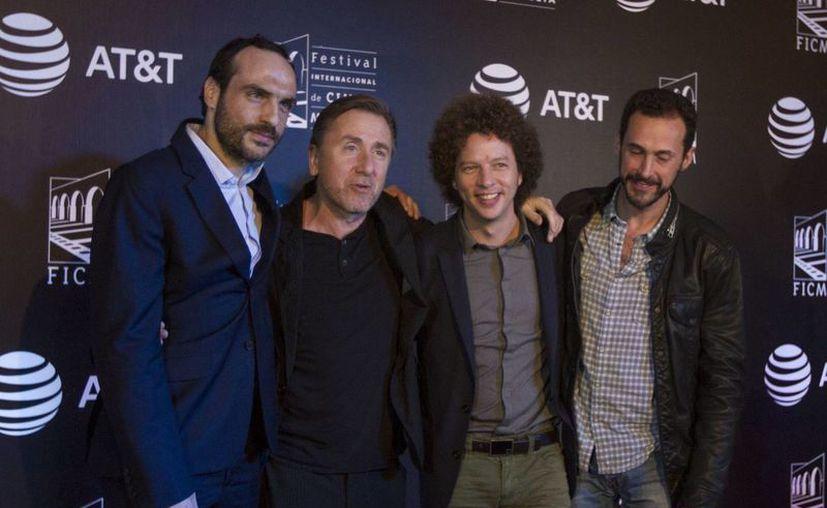 """En el marco del 13o. Festival Internacional de Cine de Morelia (FICM) el actor británico Tim Roth protagonizó la premier nacional de la cinta """"Chronic"""", de Michel Franco. (Notimex/agencia)"""