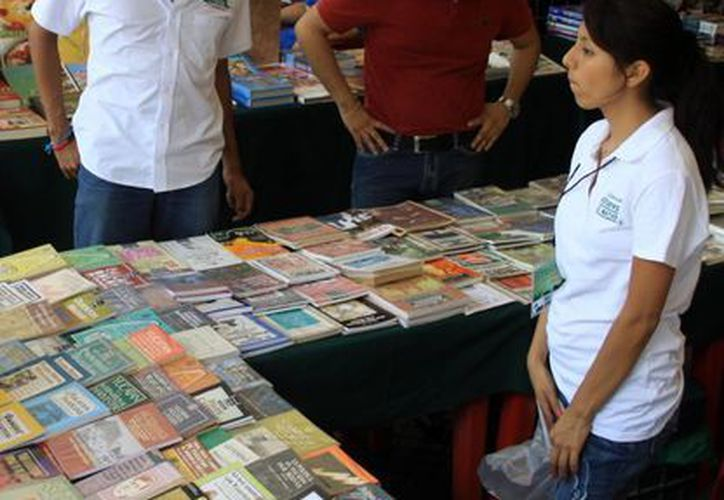 Feria del Libro en Mérida. (Milenio Novedades)