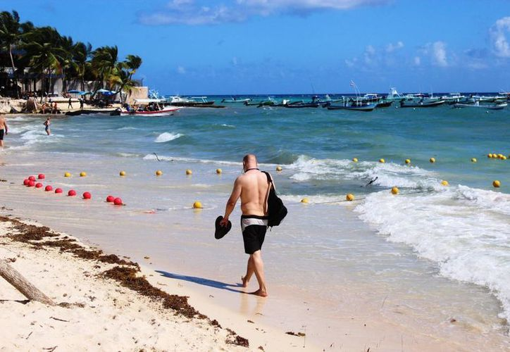 Se llevará a cabo un constante monitoreo sanitario en la playa. (Octavio Martínez/SIPSE)