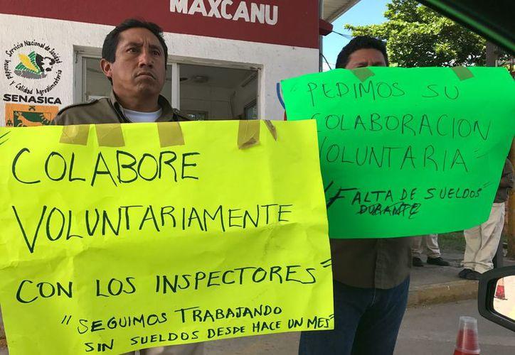Además del sueldo de 30 días, trabajadores también exigen la destitución de los jefes del comité. (SIPSE)