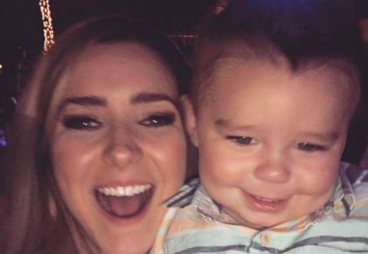 El hijo de la actriz debutó en los últimos capítulos de la Doble Vida de Estela Carrillo. (Instagram)