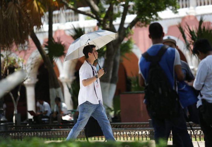 Ya para el miércoles y jueves las temperaturas máximas en la Península oscilarían entre 31 y 35 grados. (Notimex)