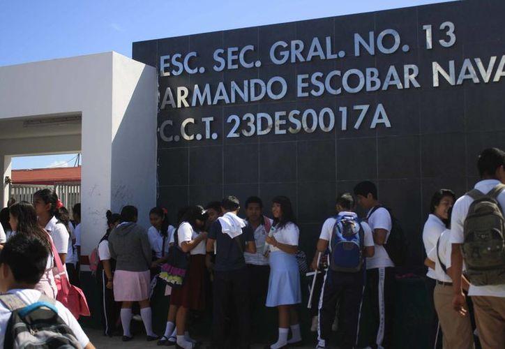 Las evaluaciones de la Auditoría Especial a la ejecución de obras en el sector Educación registraron 15 observaciones. (Harold Alcocer/SIPSE)