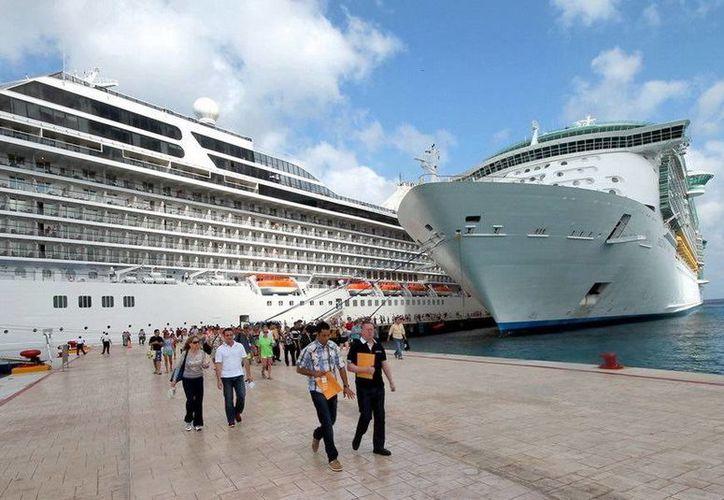 Los cruceros llegarán a Cozumel del 28 de septiembre al 4 de octubre. (Redacción/SIPSE)