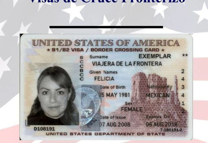 Las visas de Cruce Fronterizo que sean expedidas a menores de 15 años reducirán su costo un dolar a a partir del 4 de octubre, informó el gobierno estadounidense. (photos.state.gov)