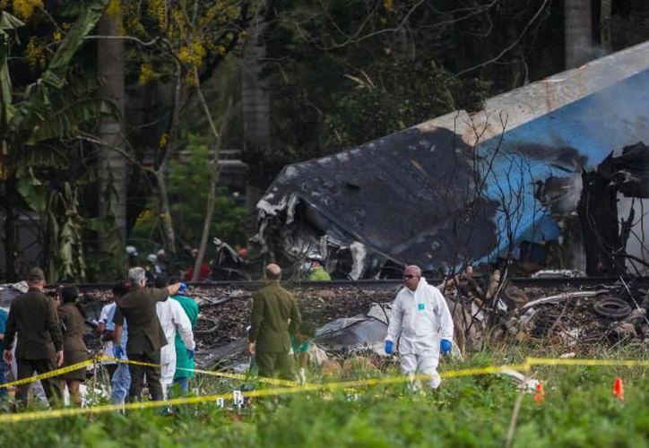 Las investigaciones del desastre prosiguen a cargo de una comisión que integran cubanos, mexicanos y estadounidenses. (El Imparcial)