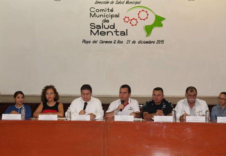 El Comité Municipal de Salud Mental fue conformado este lunes Playa del Carmen. (Adrián Barreto/SIPSE)