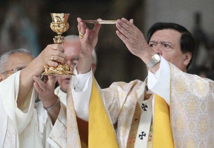 El Arzobispo primado de México llamó a escuchar a Jesús 'por encima de todos'. (Archivo/Notimex)