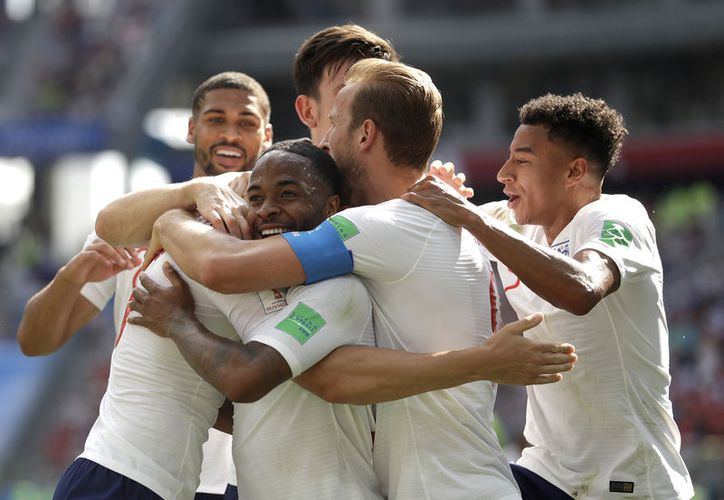 La Selección de Inglaterra actual, en solo dos partidos suma ocho goles y está a tres del récord en una sola Copa del Mundo, conseguido cuando fueron anfitriones y campeones, en 1966 (Foto archivo AP)