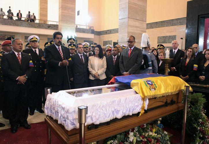 Mandatarios de países americanos e incluso de Irán acudieron al funeral de Chávez. (Agencias)