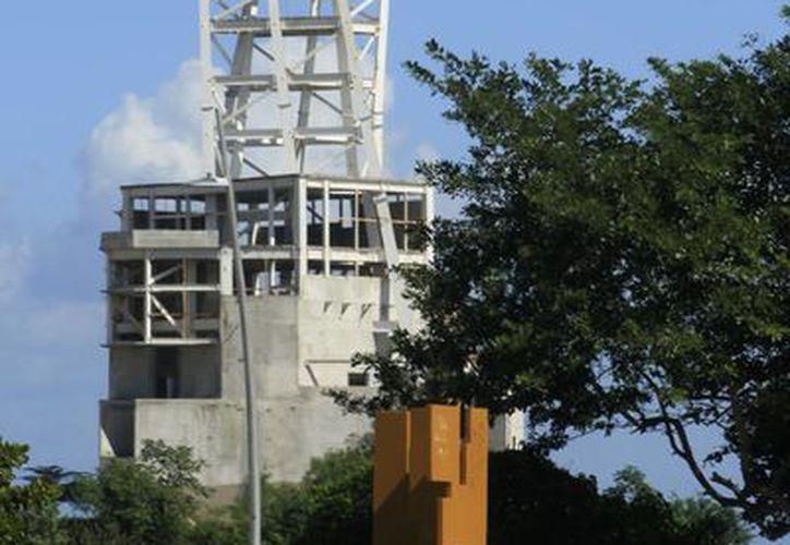 """El Monumento al Mestizaje Mexicano, fue creación del escultor chihuahuense Enrique Carbajal González, mejor conocido como """"Sebastián"""". (Harold Alcocer/SIPSE)"""
