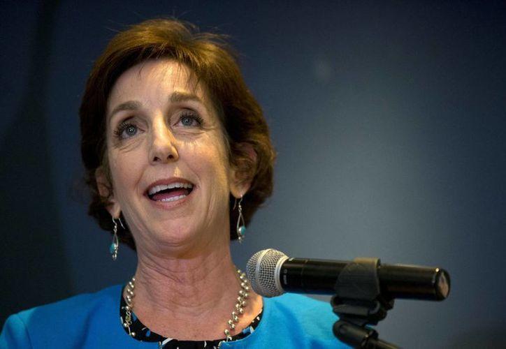 Roberta Jacobson juró como embajadora de EU ante México el pasado 5 de mayo. (AP)