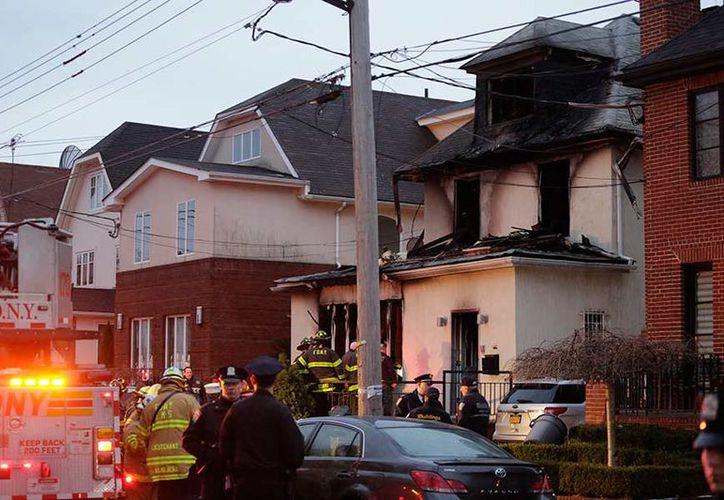 Incendio en una casa deja cuatro muertos en Nueva York. (AP)