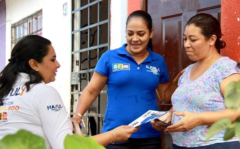 Para combatir la inseguridad se creará una Secretaría de Seguridad Ciudadana, propone la candidata al Senado, Mayuli Martínez. (Foto: Redacción)