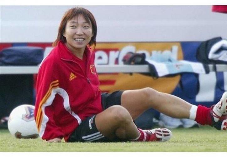 Sun Wen fue galardonada con el premio jugadora del siglo, después de sus grandes actuaciones a nivel selección. (Foto tomada de Chinadaily.com)