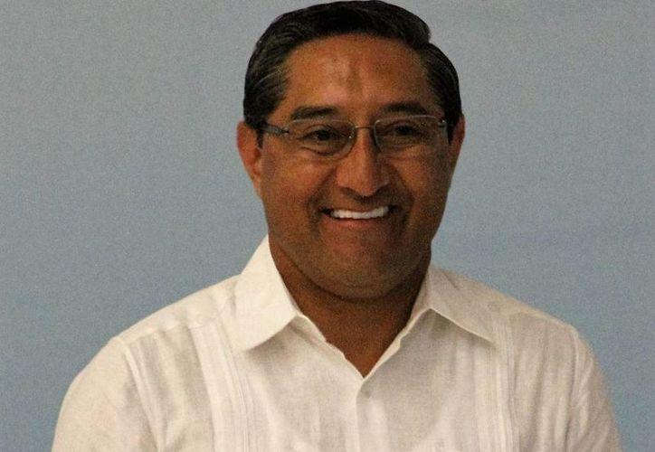 Juan Vergara Fernández, titular de la Sefiplan. (Luis Soto/SIPSE)
