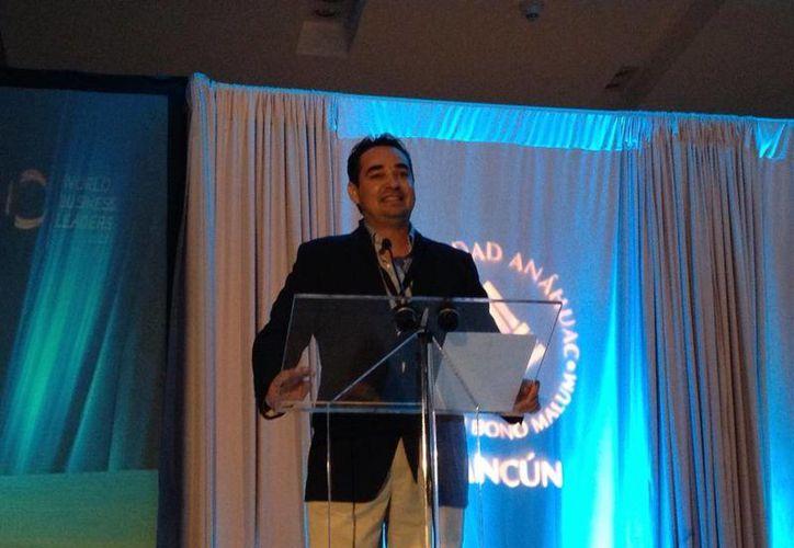 """Se realizó el Quinto Congreso de Negocios """"World Business Leaders"""" en un hotel de la ciudad. (Israel Leal/SIPSE)"""