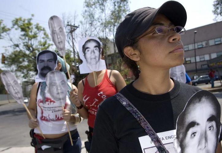 """La publicación de la lista de desaparecidos en México fue sólo un """"buen gesto"""" del gobierno, aseguran activistas. (Archivo/EFE)"""