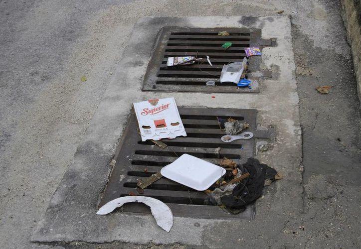 La CAPA ha registrado casos de pozos con más de tres toneladas de residuos. (Tomás Álvarez/SIPSE)