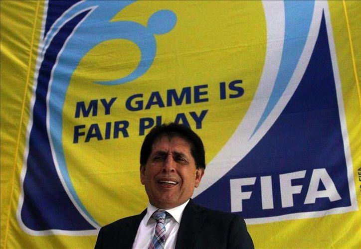 """La Federación de Fútbol de Guatemala decidió suspender """"provisionalmente"""" a su actual presidente, Bryan Jiménez, acusado por Estados Unidos de estar involucrado en una nueva red de corrupción en la FIFA.- (EFE)"""