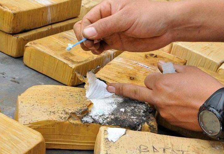 Los 157 kilogramos de cocaína fueron incautados en la provincia de Andahuaylas. (larepublica.pe)