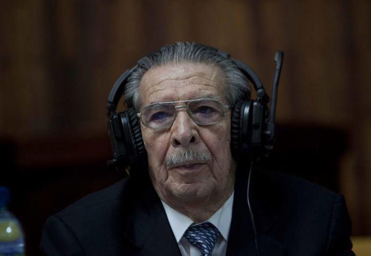 Ríos Montt se hizo hospitalizar dos días después de haber sido condenado. (Archivo/EFE)