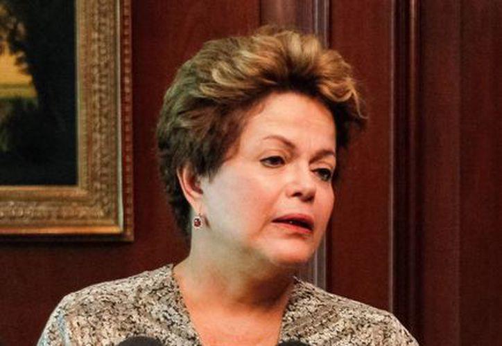 Dilma Rousseff llegó a Chile el viernes pasado para participar en una cumbre. (Agencias)