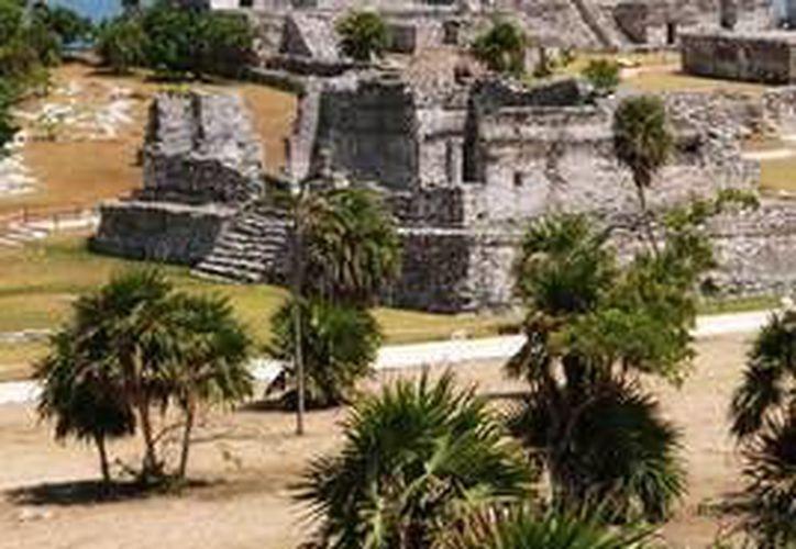 Reportan un crecimiento del 2.2% en la afluencia de las zonas arqueológica. (Redacción/SIPSE)